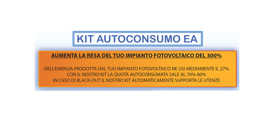KIT autoconsumo Energia Alternativa